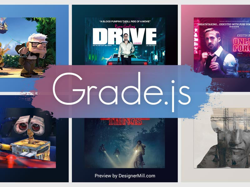 Grade.js - gradients generator from images