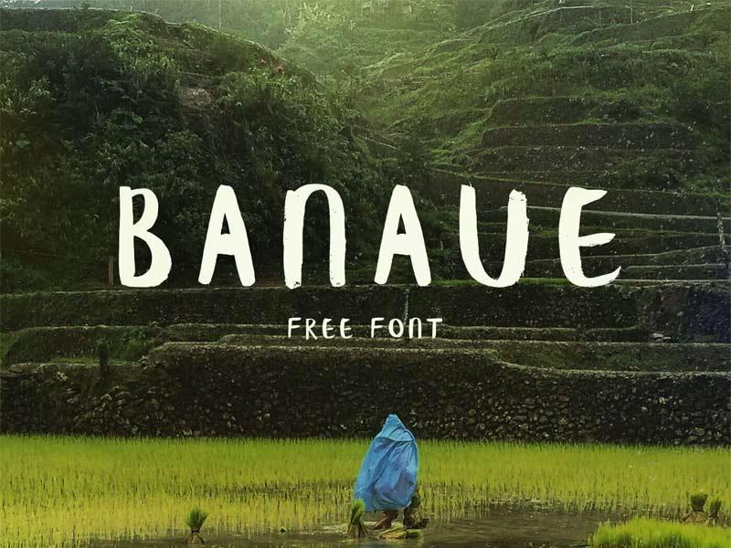 Banaue - Free Font