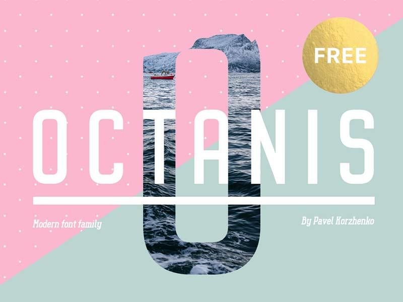 Octanis - Free Font