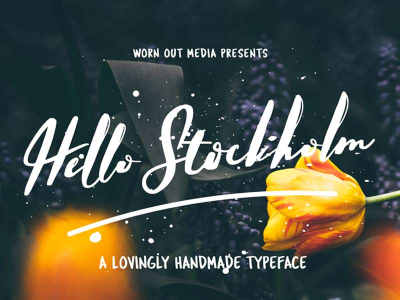 Hello Stockholm - Free Font