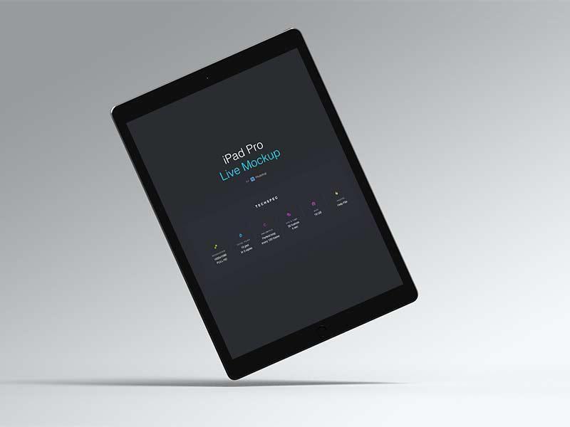 iPad Pro - Live Mockup