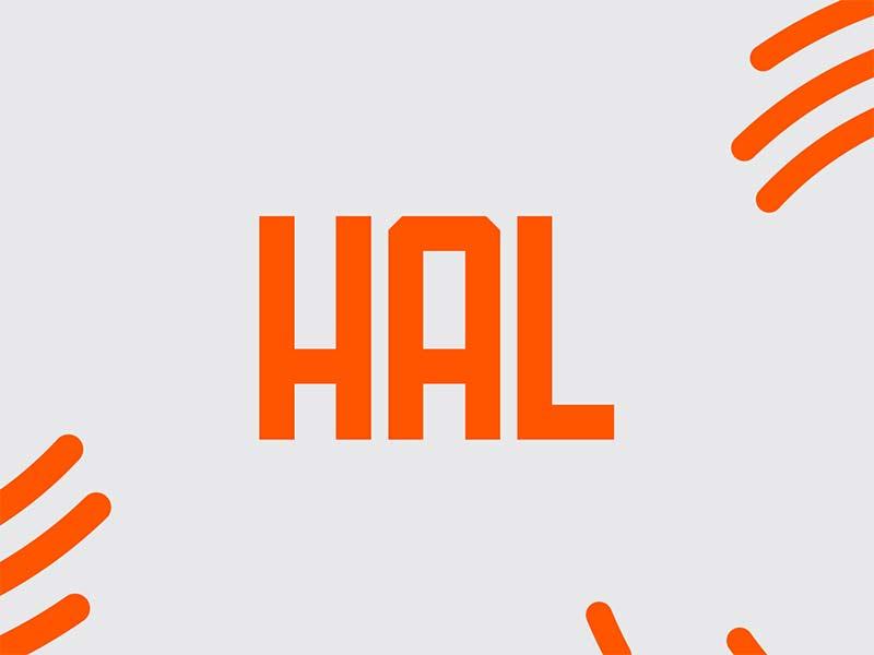 Hal - Free Font