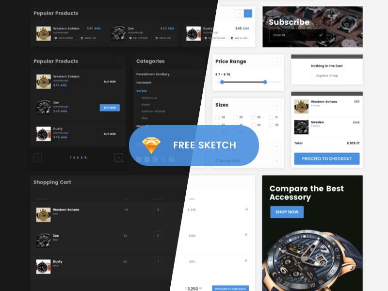 Minimax - Free eCommerce UI Kit