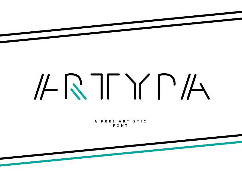 Artypa - Free Font