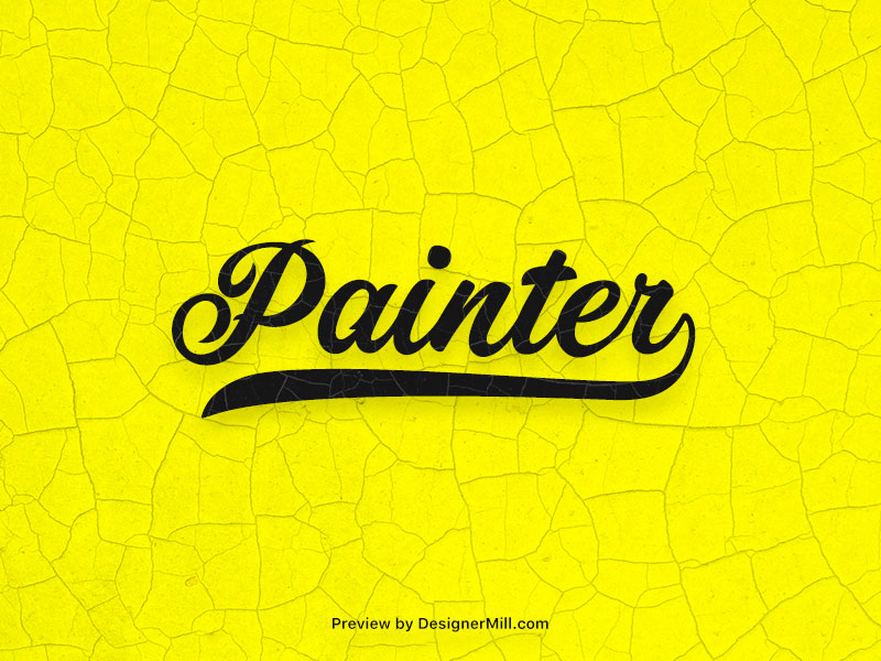 Painter - Free Font