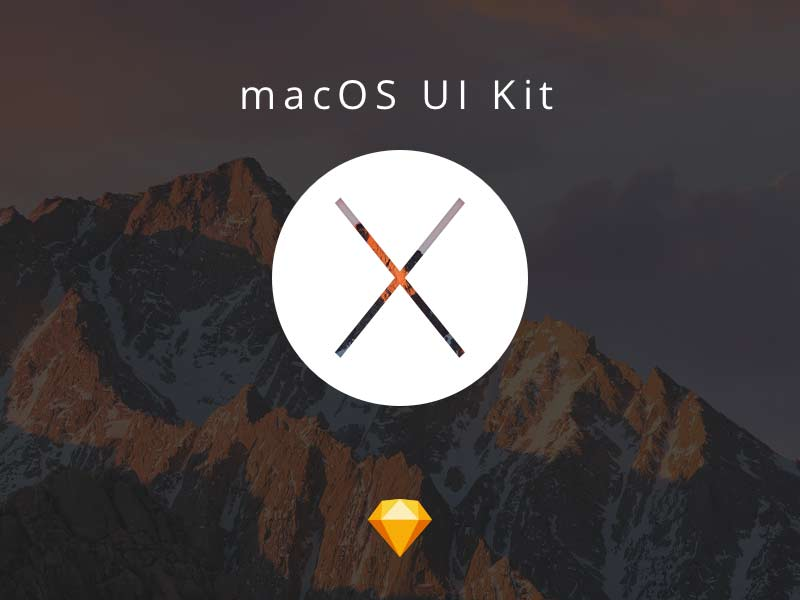 macOS UI Kit for Sketch