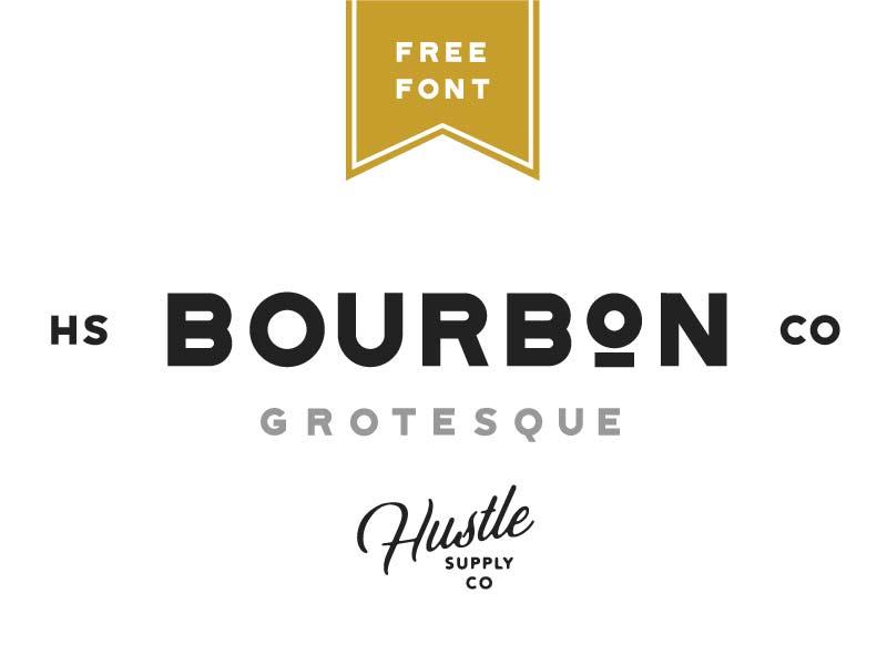 Bourbon Grotesque - Free Font