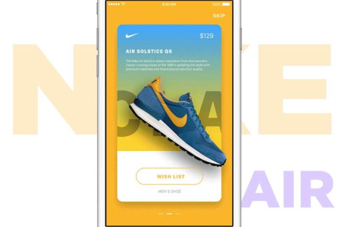 Nike Promotion Ads - Principle and Sketch freebies