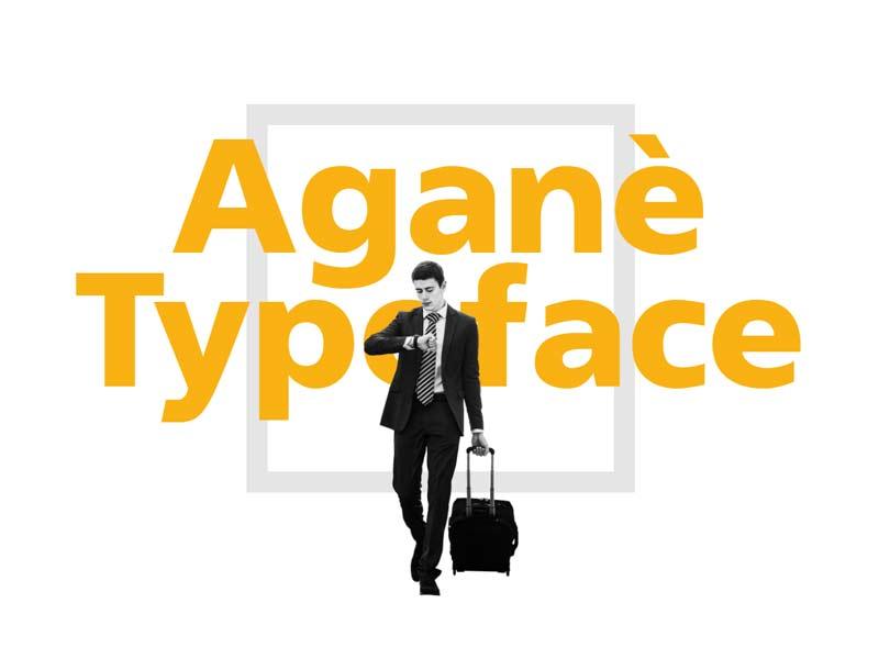 Aganè - Free Font