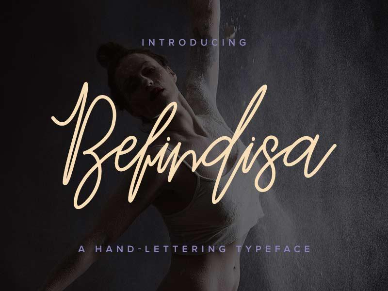 Befindisa - Free Font