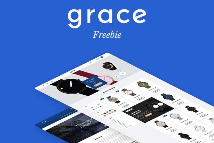 Grace UI Kit - Free PSD
