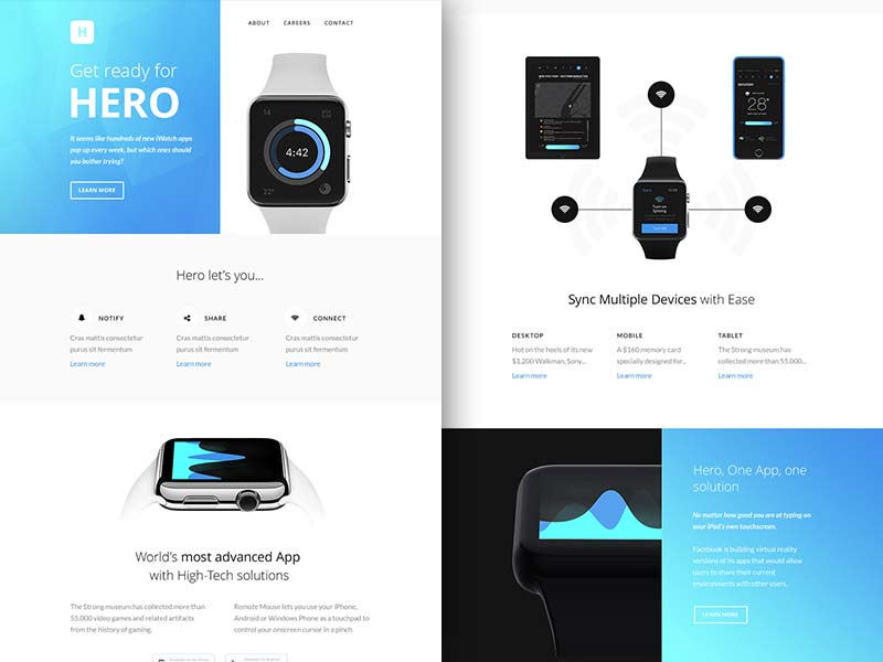 Hero - Responsive Email Template