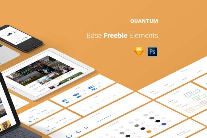 Quantum - Free UI Kit
