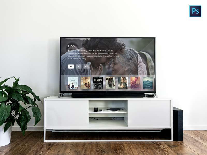 TV Mockup - Free PSD