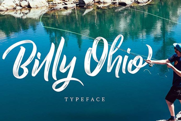 Billy Ohio - Free Font