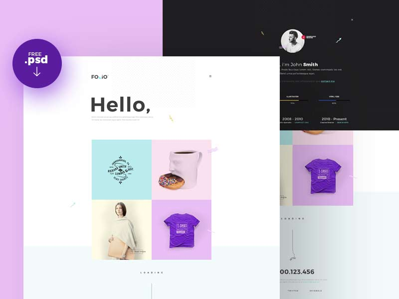 FOLIO - Portfolio Website Template