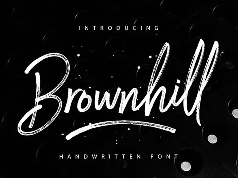 Brownhill - Free Font