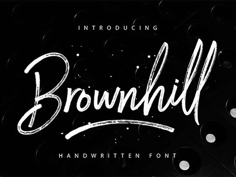 Brownhill - Free Font