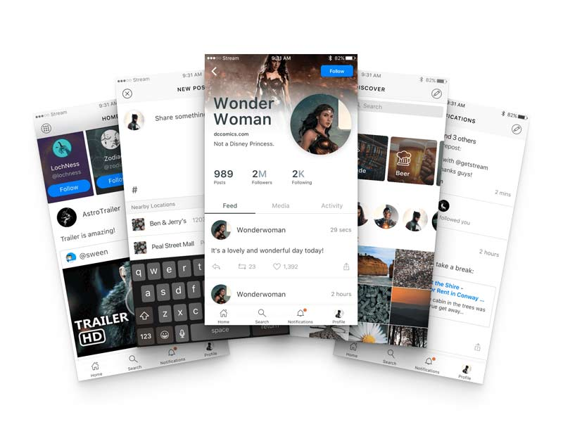 Based UI KIt - Sketch Freebie
