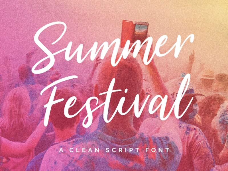 Summer Festival - Free Font