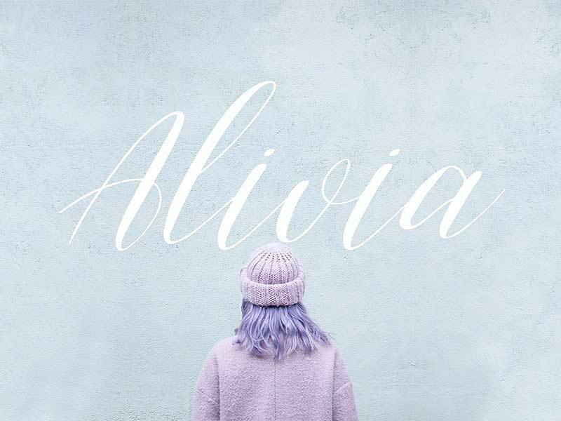 Alivia - Free Font
