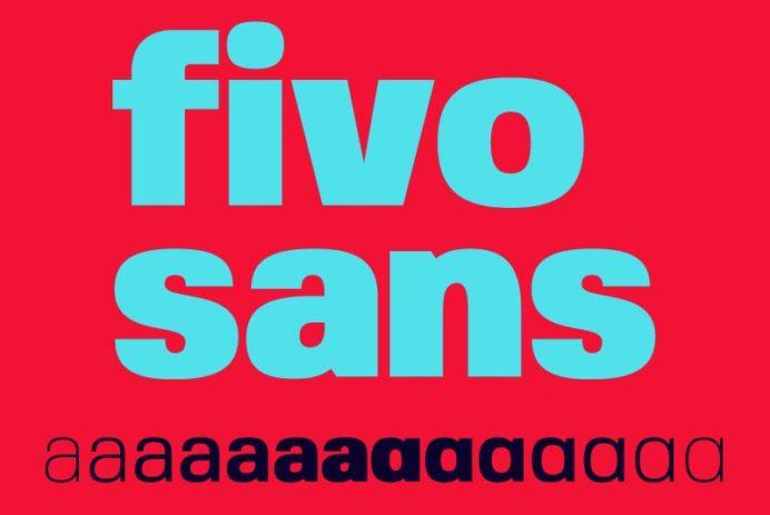 Fivo Sans - Free Font