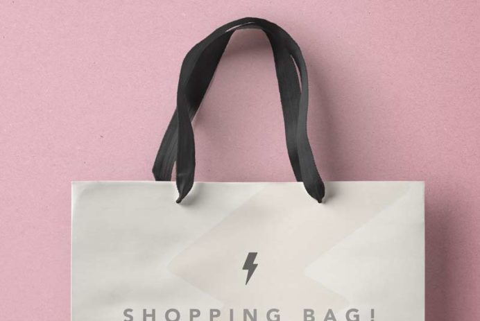 Shopping Bag - Free PSD Mockup