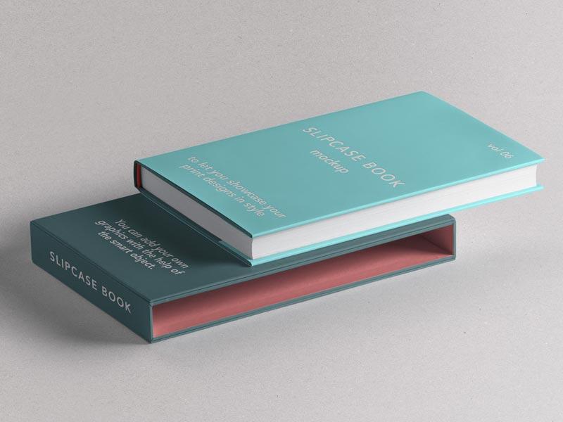 Slipcase Book Mockup