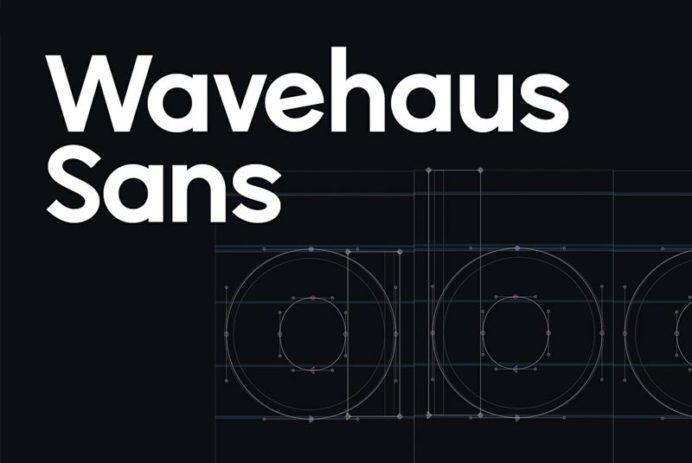 Wavehaus Sans - Free Font