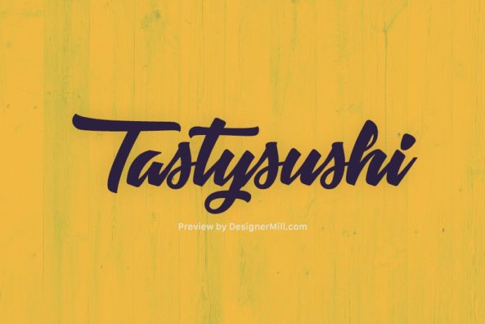 Tastysushi - Free Font