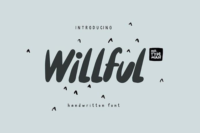 Willful - Free Font