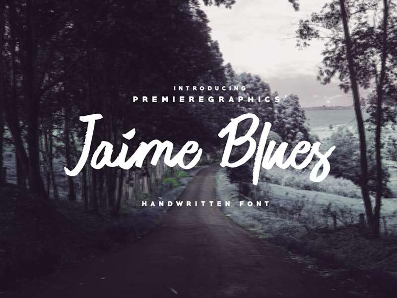 Jamie Blues - Free Font