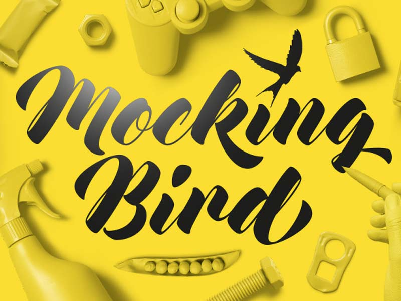 Mocking Bird - Free Font