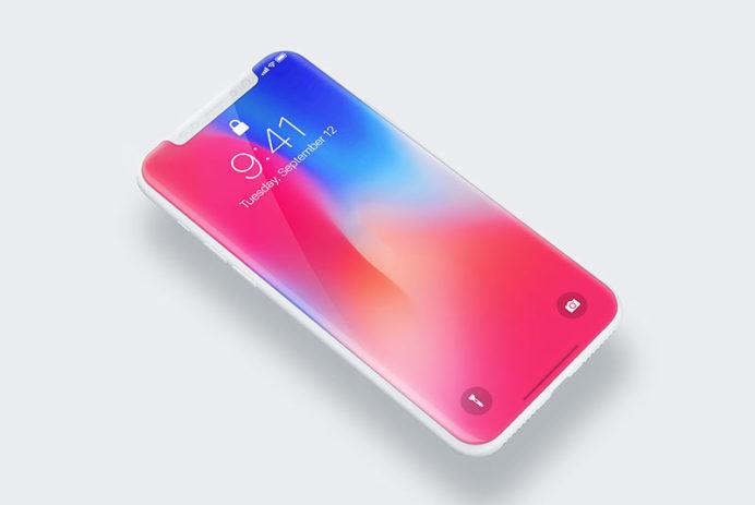 iPhone X - Free PSD Mockup