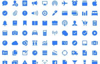 200+ Free iOS 11 Icons