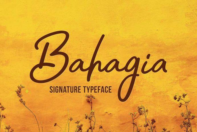 Bahagia - Free Font