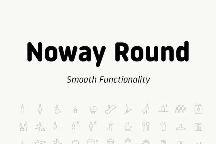 Noway Round - Free Font
