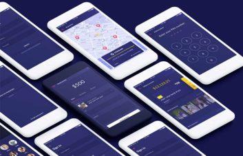 Personal Finance App - UI Kit for XD