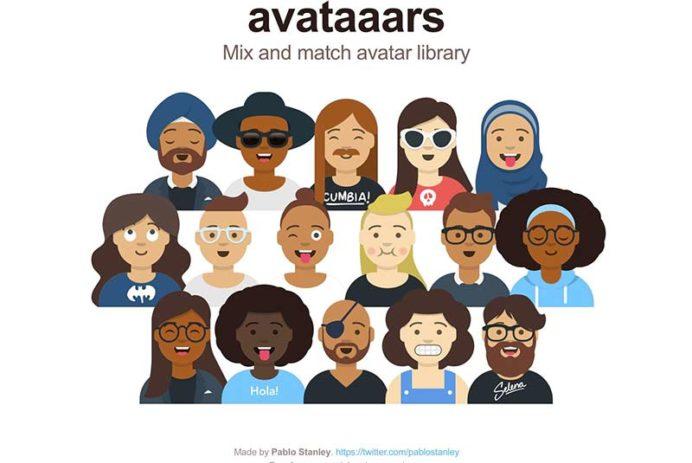 Avataaars - Avatar Illustrations Sketch Library