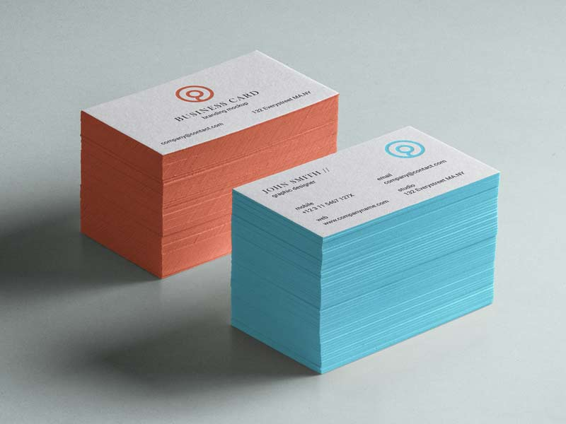 Business Card Mockup - Free PSD