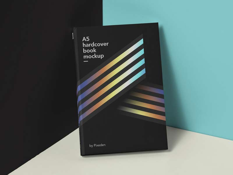 Hardcover Book - Free PSD Mockup