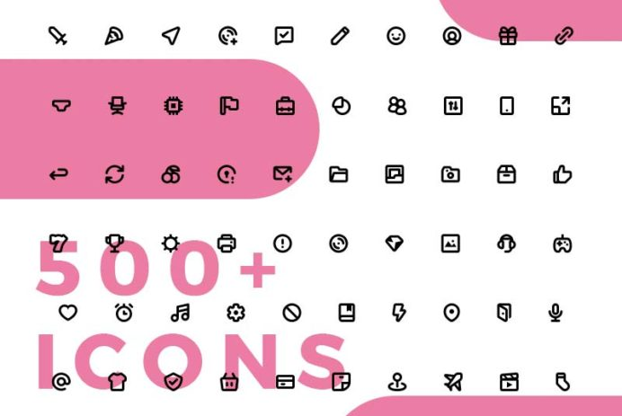 Mmmicons - 500+ Free Icons