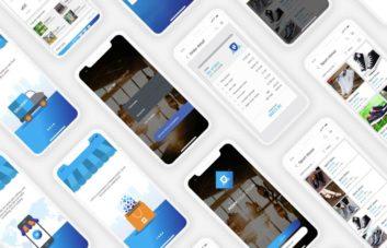 eCommerce Mobile App UI Kit for Adobe XD