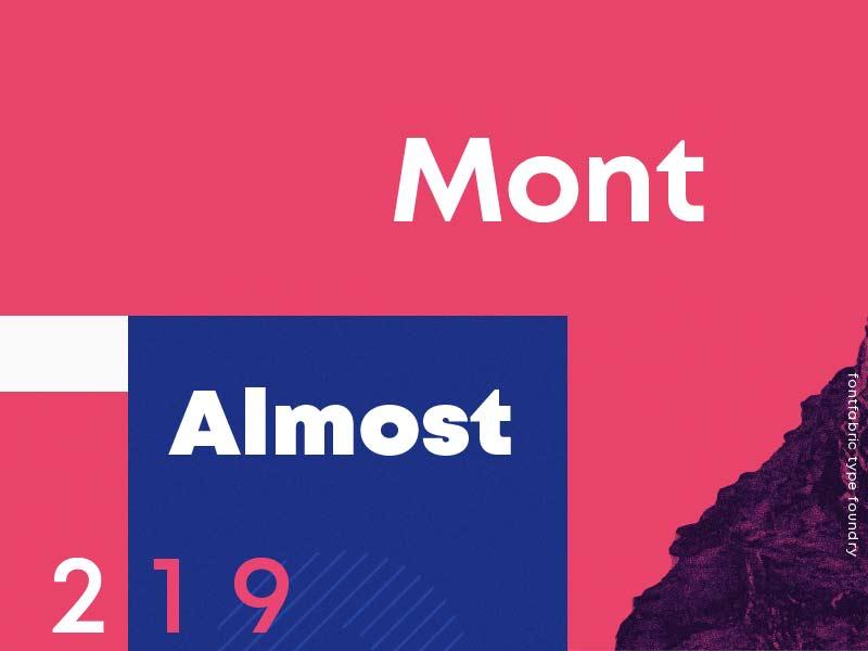 Mont - Free Font