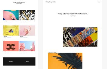 K!sbag - Free Portfolio Website Template