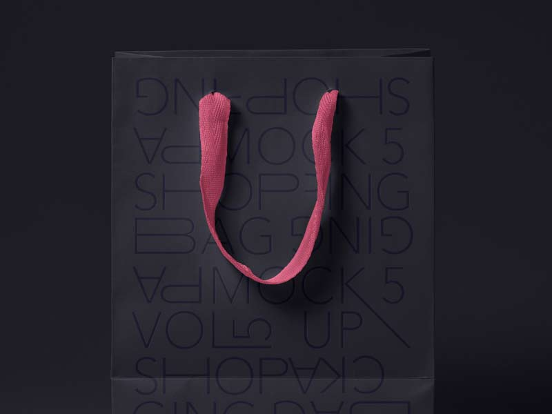 Shopping Bag Mockup - FREE PSD