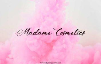Madame Cosmetics - Free Font