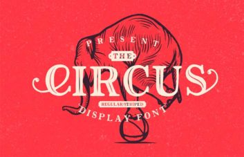 The Circus - Free Display Font