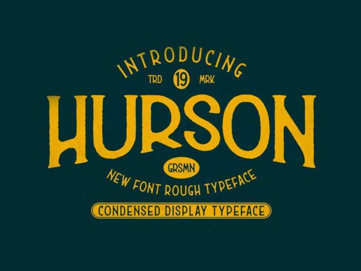 Hurson - Free Font