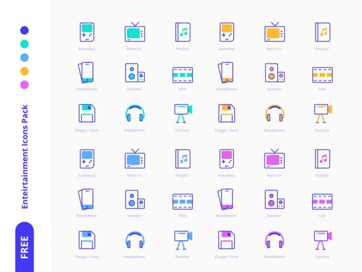 Office - Free Icon Pack
